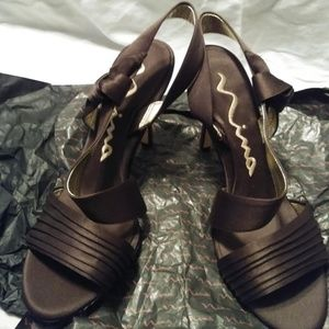 Nina Heels Size 7.5 M Shoes
